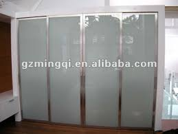 aluminum kitchen roller shutter door frosted glass closet doors