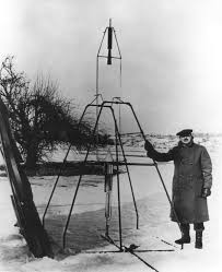 this day in history robert h goddard performs the first flight