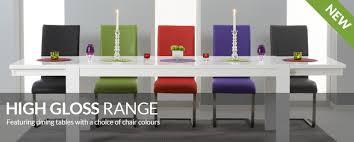 high gloss dining tables u0026 sets oak furniture superstore