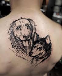 40 amazing dog tattoos for dog lovers tattooblend