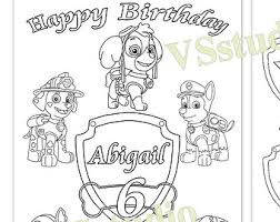 happy birthday paw patrol coloring page related image ayah paw patrol b day ideas pinterest paw patrol