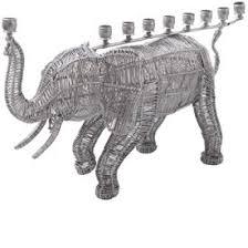 elephant menorah funky elephant menorah menorahs menorah hanukkah