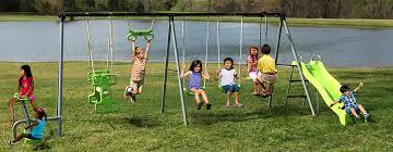 Park Flyers Backyard Flyers by Flexible Flyer Swing Sets
