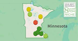 Lake Maps Mn 2018 Best Districts In Minnesota Niche