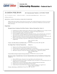 Sample Federal Resume Cover Letter Federal Government Resume Samples Federal Gov Resume
