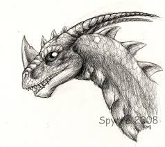 realistic spyro sketch by spyrre on deviantart