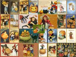 my free wallpapers artistic wallpaper halloween vintage collage