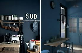 cuisine mur bleu mur de cuisine peint en bleu cuisine bathroom accessories utoo me