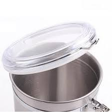 kitchen metal storage containers u2013 4 sizes u2013 shopper