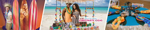 luau party supplies hawaiian theme party shindigz