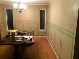 dining room paneling chic chic modern wainscoting panels in dining room contemporary