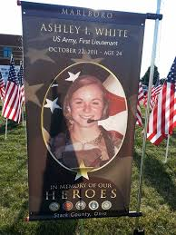 ashley white field of honor field of heroes 1st lt ashley i white stumpf