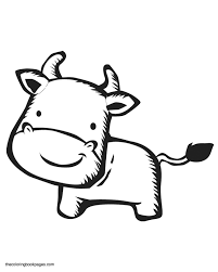 printable cow pictures coloring home
