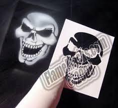 airbrush stencil kb max skull 1 full skull airbrush stencil