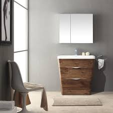 Modern Bathroom Medicine Cabinet 32 Rosewood Modern Bathroom Vanity W Medicine Cabinet