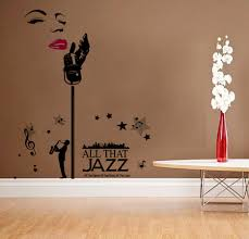 wholesale funlife one direction wall sticker poster girls high quality new design large size marilyn monroe jazz singer removable art vinyl wall stickers xcm decor mural decal