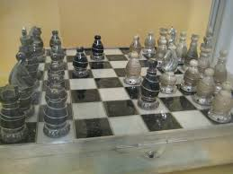 Contemporary Chess Set File Stalin U0027s Present Chess Praga 1949 State Central Museum Of