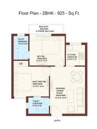 terrific 2 bhk home plan layout gallery best inspiration home