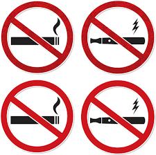 vapoter dans les bureaux interdiction vapoter cigarette électronique travail signalisation