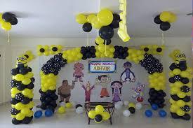 Minion Birthday Decorations 1000 Theme Birthday Decoration Ideas For A Memorable Bash