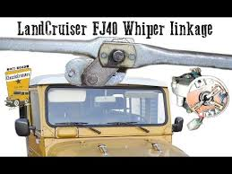 fixing the wiper mechanism on a fj40 bj40 bj42 toyota landcruiser