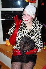 Cruella Vil Halloween Costumes Easy Homemade Cruella Vil Halloween Costume