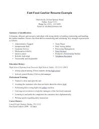 sample of resume for cashier cashier sample resume for cashier
