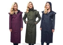 women u0027s long waterproof coats full length and 3 4 length drover