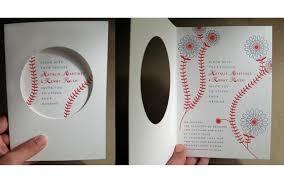 baseball wedding invitations inspiration opening day cincinnati wedding planner cincy