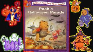 winnie pooh halloween parade