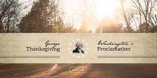 george washington s thanksgiving proclamation imom