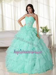 mint quinceanera dresses floor length quinceanera dress in mint green with ruffles