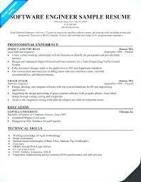 Software Developer Resume Template by Software Developer Resume Format Proyectoportal