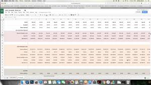 Money Saving Spreadsheet Debt Snowball Spreadsheet Tutorial Youtube