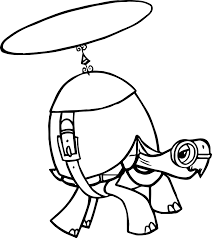 helicopters save minions monster trucks helicopter tortoise turtle coloring page wecoloringpage