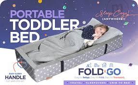 travel bed for toddler images Milliard portable toddler bumper bed folds for jpg