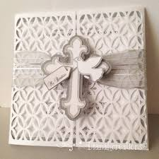Invitations And Cards Handmade Baptism Invitation Religious Invites Pinterest