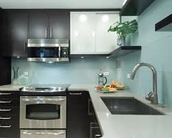 blue glass kitchen backsplash blue glass tile backsplash houzz