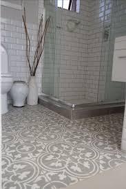 patterned tile bathroom bathroom floor tile