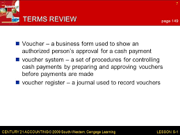 lesson 5 1 vouchers and voucher registers ppt video online download