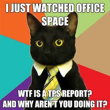 Office Space Memes - i just watched office space cat meme cat planet cat planet