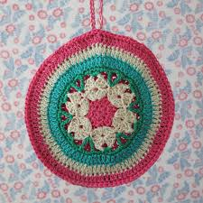 byhaafner crochet potholder poetry