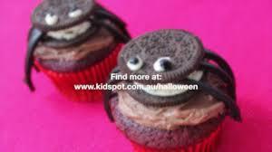 how to make oreo spider cupcakes recipe youtube