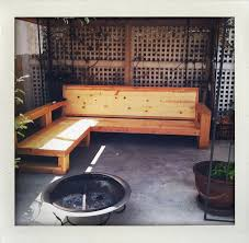 Outdoor Wood Sectional Furniture Plans by 57 Best Diy Outdoor Furniture Images On Pinterest Landscaping