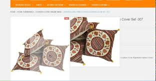 Throw Pillow Covers Online India Buy Exquisite Floral Print Cushion Covers Online In India Youtube