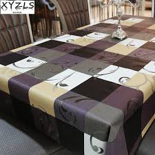 Retro Table Ls Xyzls High Quality European Retro Table Cloth Pvc Tablecloth