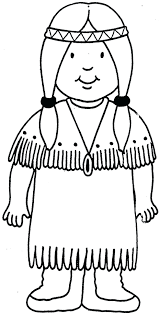 american indian coloring pages colouring