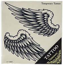 wings tattoos amazon com