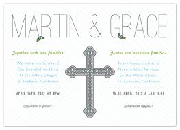 bilingual wedding invitations wedding invitations bilingual celebration at minted