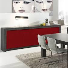 cuisine noir et rouge buffet cuisine rouge laqué indogate com decoration cuisine